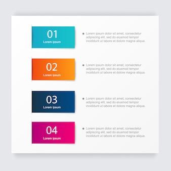 Красочная информационная графика для ваших бизнес-презентаций.