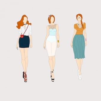 Ручной обращается модные модели.