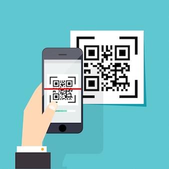 Электронное сканирование, цифровая техника, штрих-код.