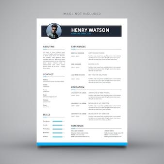 履歴書デザインの履歴書