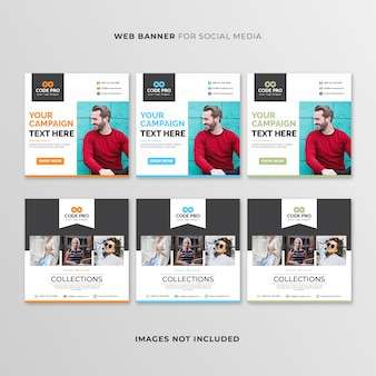 Веб-баннер для социальных сетей