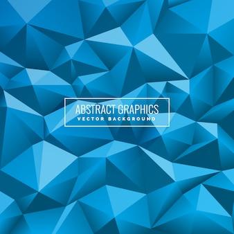 青い幾何学的背景