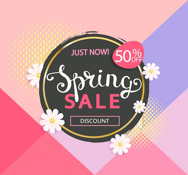 春の販売ロゴ