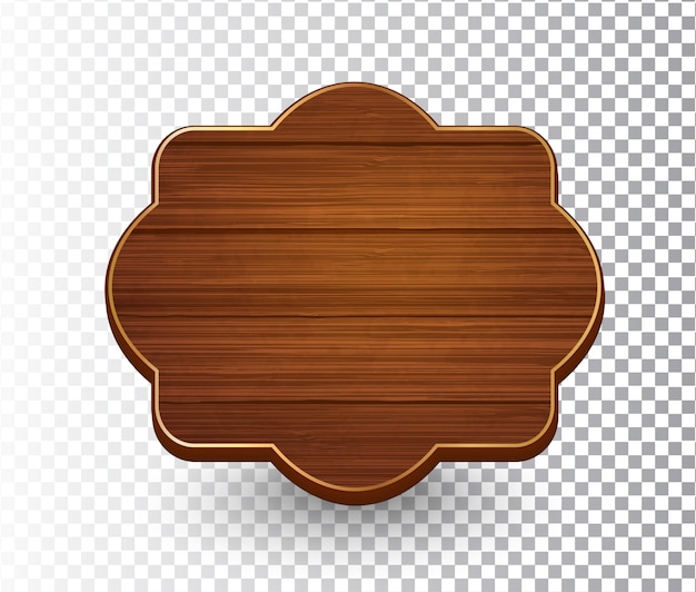 木製のレトロなヴィンテージフレーム