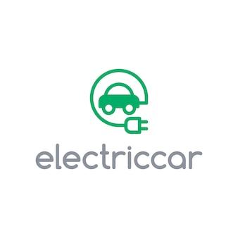 電気自動車のロゴ