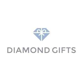 ダイヤモンドのロゴデザイン