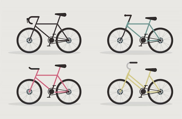 Набор дорожных велосипедов