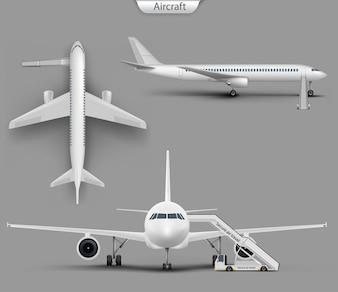 Реалистичный самолет, набор макетов самолетов