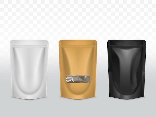 Типы упаковки полиэтиленовых товаров