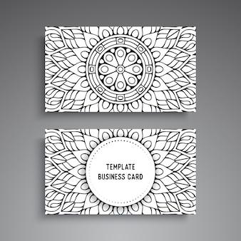 Визитная карточка. старинные декоративные элементы
