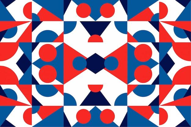 Фон мозаики красочные геометрические фигуры