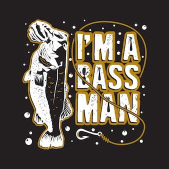 Рыбалка цитата и говоря хорошо для полиграфического дизайна