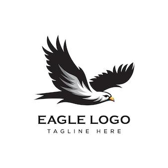 空飛ぶワシのロゴ