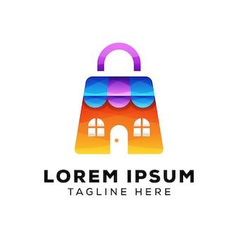 Магазин с логотипом сумки
