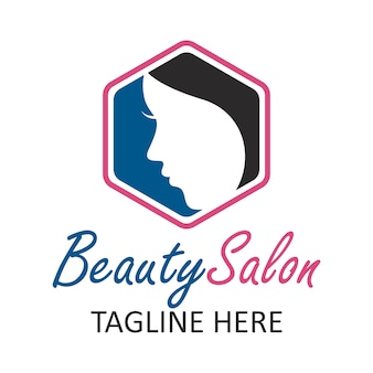 Элегантный логотип салона красоты