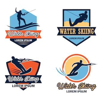 水上スキーロゴ