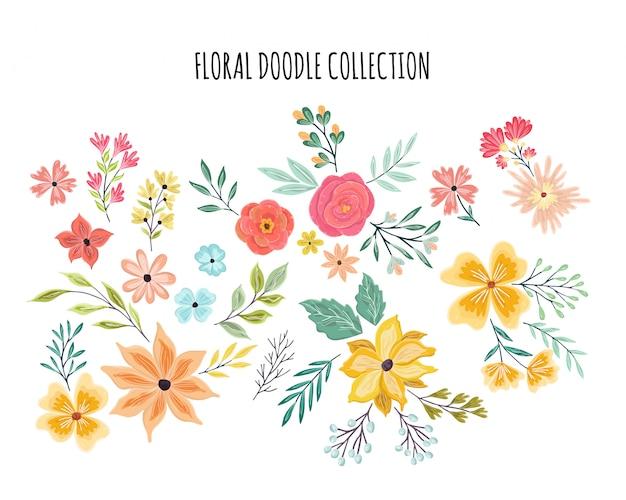 夏の花飾りセット
