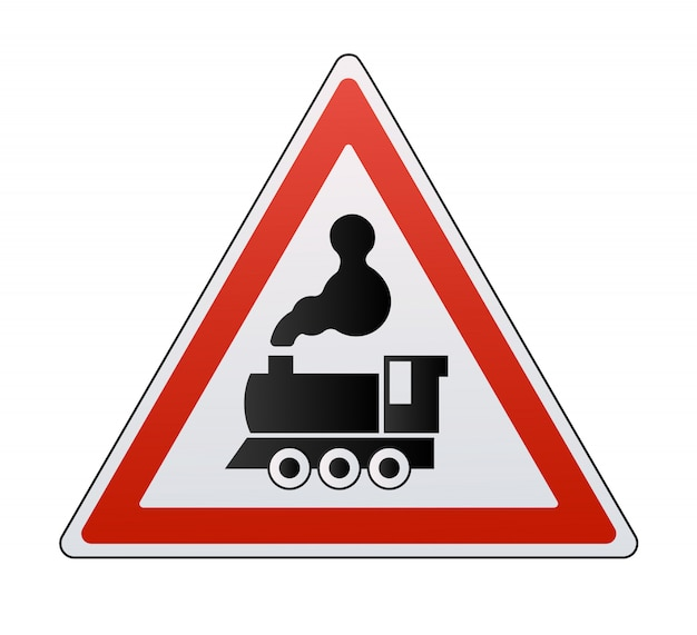 Железнодорожные знаки установлены изолированные