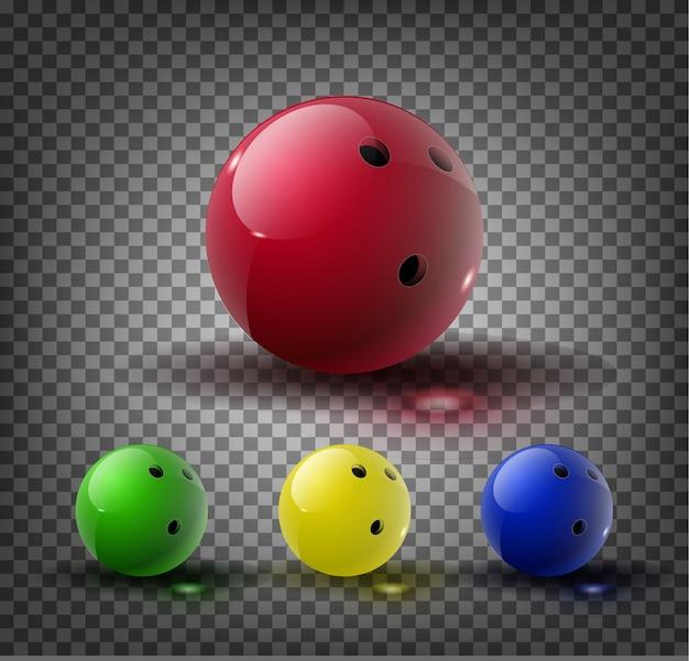ボウリングのボール。