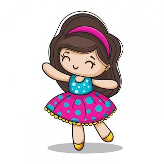 Счастливая девочка