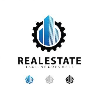 Шаблон логотипа недвижимости