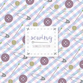 縫製パターンの背景