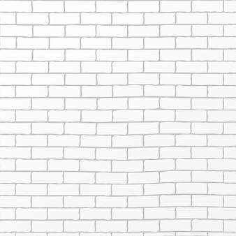 素朴な白レンガの背景のベクトル