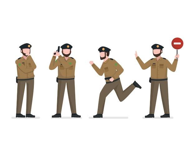 Полицейский персонаж