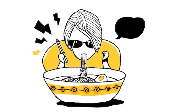 Спагетти рамен