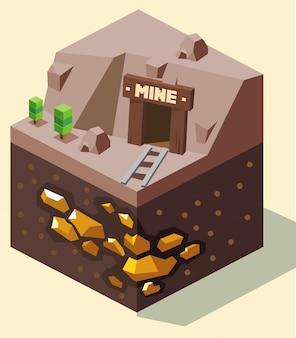 Золотая шахта