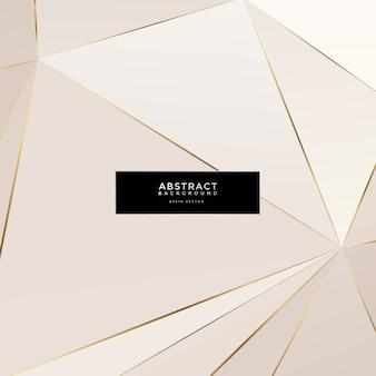 Золотой многоугольник фон