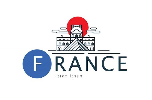 フランスのロゴ。