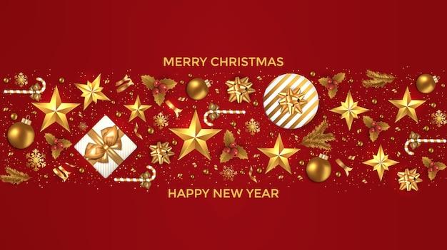 ホリデークリスマスカード