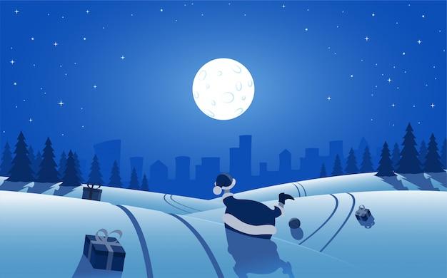 Дед мороз авария