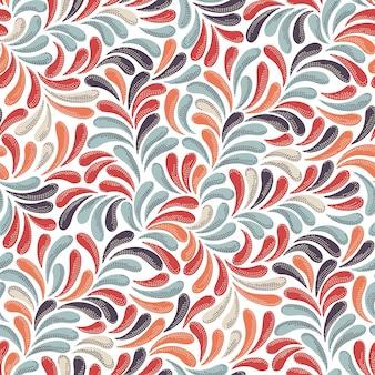 Абстрактный красочный узор