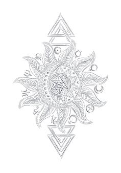 錬金術魔法の看板