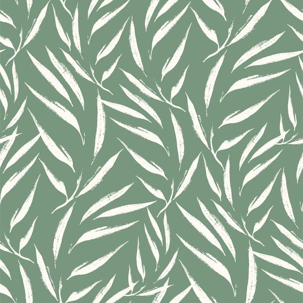 抽象的な葉のパターン