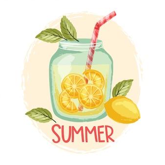 夏のレモネード