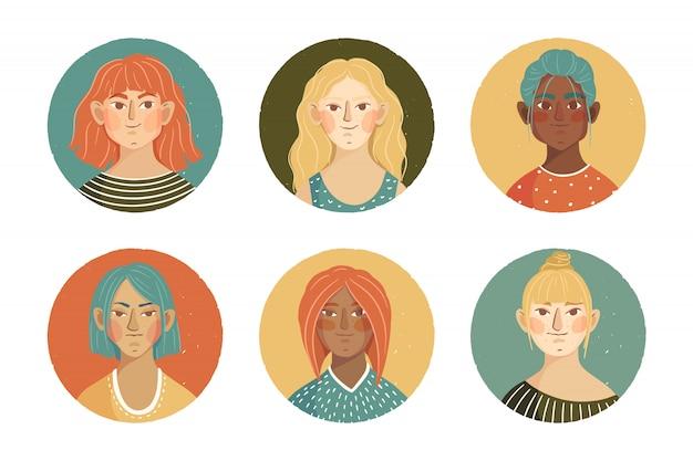 Коллекция аватаров для девочек