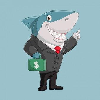 成功するビジネスサメ