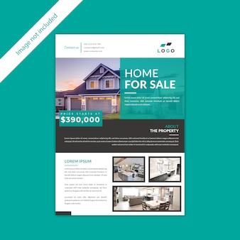 Недвижимость для продажи дома дизайн флаера