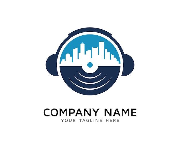 ミュージックタウンロゴデザイン