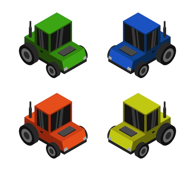Изометрический трактор