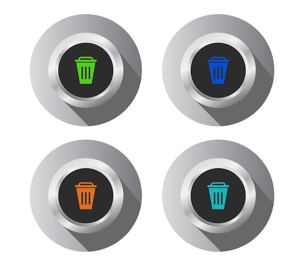 ボタンセット削除