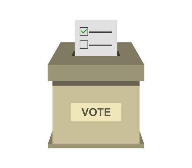 投票ボックスの図