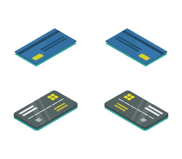 等尺性銀行カードのセット