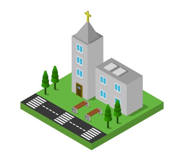 Изометрическая церковь