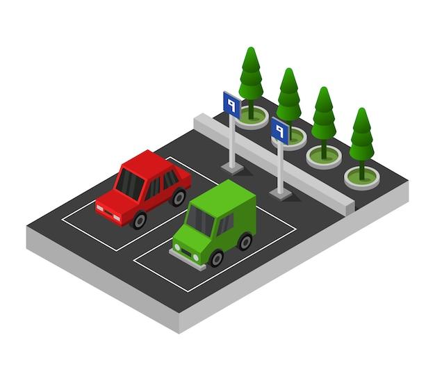 Изометрическая парковка