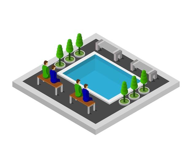 等尺性プール