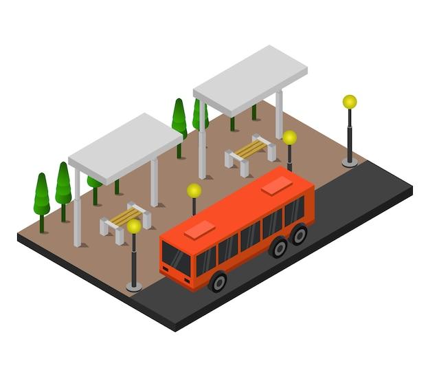 等尺性バス停